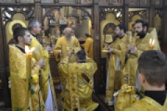 Архиерейское богослужение в неделю 28-ю по Пятидесятнице