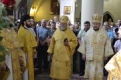 Архиерейское богослужение в празднование Рождества Иоанна Предтечи