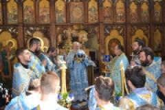 Храмовой праздник. Благовещение Пресвятой Богородицы