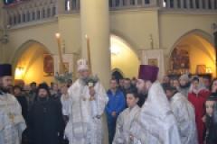 Праздничное архиерейское богослужение в день Рождества Христова