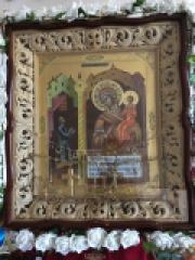 Список чудотворного образа Божией Матери «Нечаянная Радость» в нашем храме